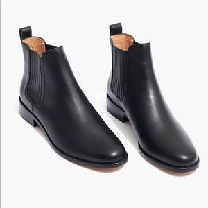 Madewell boots — the Ainsley Chelsea Boot in black